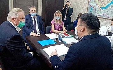 Вячеслав Наговицын входе поездки врегион обсудил вопросы работы Фонда капремонта вБурятии