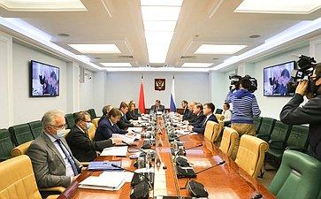 VII заседание Межпарламентской комиссии Совета Федерации иСовета Республики Национального собрания Республики Беларусь помежрегиональному сотрудничеству врамках VII Форума регионов Беларуси иРоссии врежиме видеоконференцсвязи