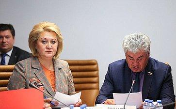 «Круглый стол» Комитета СФ пообороне ибезопасности совместно сКомитетом СФ понауке, образованию икультуре
