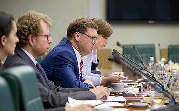 К.Косачев провел встречу сучастниками семинара «Отношения России иЕвросоюза: новый этап»