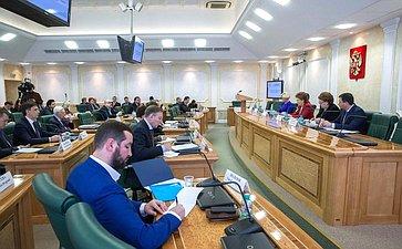 Г.Карелова провела заседание Совета попроблемам профилактики наркомании при Совете Федерации
