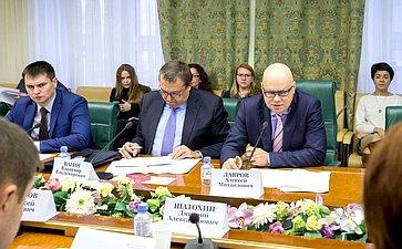 Заседание рабочей группы при Комитете СФ побюджету ифинансовым рынкам посовершенствованию законодательства всфере инициативного бюджетирования