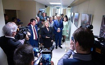 Открытие вСовете Федерации выставки «Крымская весна. Возвращение домой»