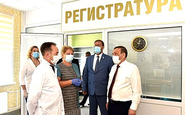 Константин Косачев принял участие вторжественном открытии поликлиники Козьмодемьянской межрайонной больницы