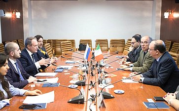 А.Башкин провел встречу сректором Туринского университета Д.Айани