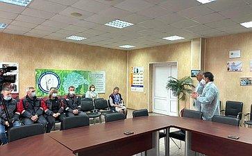 Максим Кавджарадзе врамках поездки врегион посетил производственные предприятия вТербунском иВоловском районах