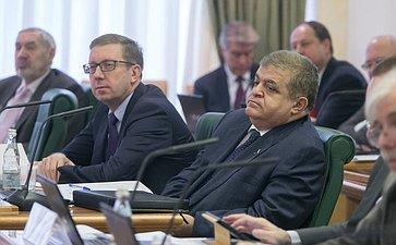 Заседание Научно-экспертного совета при Председателе СФ на тему «Проблемы миграции внутри и вокруг России»
