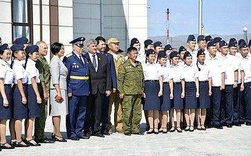 М. Козлов возглавил делегацию ветеранов боевых действий вАфганистане, посетивших Республику Тыва
