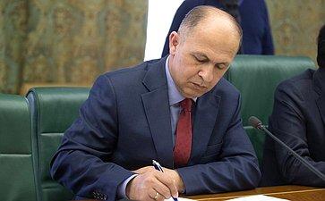 Встреча Д. Мезенцева сПослом Таджикистана