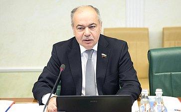 Заседание Интеграционного клуба при Председателе СФ натему «Процессы вмиграционной сфере иперспективы евразийской интеграции: опыт регионов»