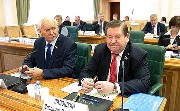 Николай Тихомиров иВладимир Литюшкин