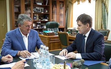 ВСовете Федерации уверены вуспешном проведении Пятого форума регионов Беларуси иРоссии— Ю.Воробьев