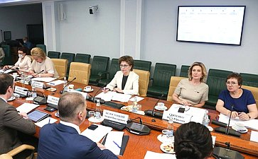 Заседание Совета поделам инвалидов при Совете Федерации