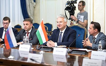 Встреча сзаместителем Премьер-министра Венгрии Жолтом Шемьеном
