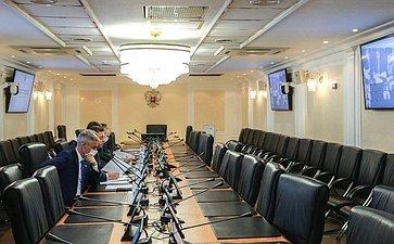 «Круглый стол», посвященный вопросам реализации федеральных законов «Огосударственном контроле (надзоре) имуниципальном контроле вРоссийской Федерации» и«Обобязательных требованиях вРоссийской Федерации»