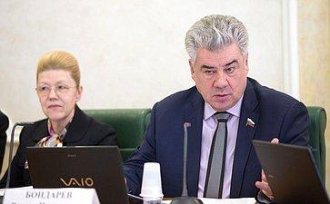 Елена Мизулина иВиктор Бондарев