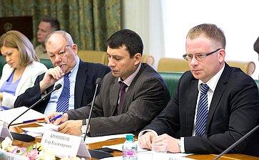 Заседание «круглого стола» натему «Россия– Франция: парламентский взгляд вбудущее»