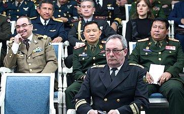 Встреча членов Комитета СФ пообороне ибезопасности своенными атташе иностранных государств