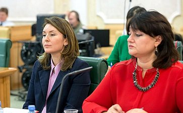 Заседание Совета Евразийского женского форума при СФ