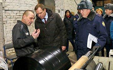 Временная комиссия СФ посовершенствованию правового регулирования всфере государственного контроля (надзора) имуниципального контроля вРФ посетила г. Омск