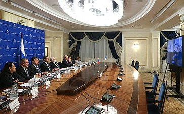 Совместное заседание группы посотрудничеству СФ сСенатом Французской Республики игруппы дружбы Сената Французской Республики «Франция-Россия»