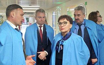 Татьяна Кусайко посетила Чувашскую Республику всоставе делегации парламентариев