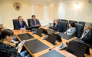 Встреча Владимира Кравченко иАнатолия Широкова сдепутатами Томской области