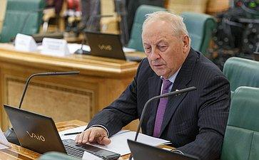 И. шубин Расширенное заседание Комитета СФ по бюджету и финансовым рынкам