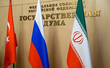 Первое совместное заседание парламентских комитетов России, Ирана иТурции