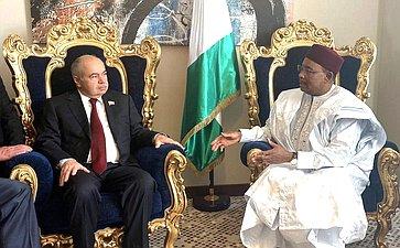 Делегация Совета Федерации приняла участие вмероприятиях саммита иэкономического форума Россия-Африка