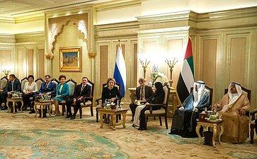 Встреча В. Матвиенко сА. Аль Кубейси