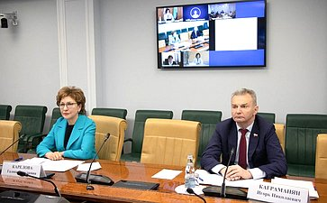 Заседание Совета порегиональному здравоохранению натему «Ореализации региональных программ развития детского здравоохранения»