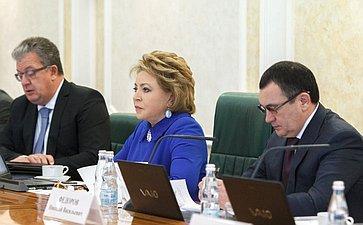 В. Матвиенко иН. Федоров