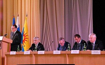 Владимир Бекетов принял участие вработе открытой сессии Совета муниципального образования Успенский район