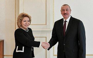 Официальный визит В.Матвиенко вАзербайджан