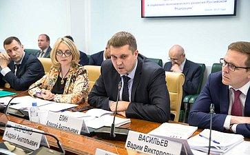 «Круглый стол» Комитета пофедеративному устройству, региональной политике, МСУ иделам Севера совместно сКомитетом СФ поэкономической политике