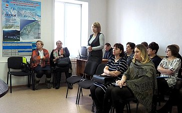 Встреча В. Наговицына сдепутатами иглавами поселений Прибайкальского района