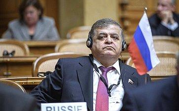 В. Джабаров наXVII заседании Ассоциации европейских сенатов