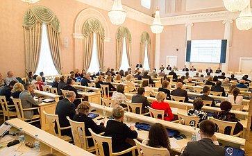 Заседания «круглых столов» врамках Невского международного экологического конгресса