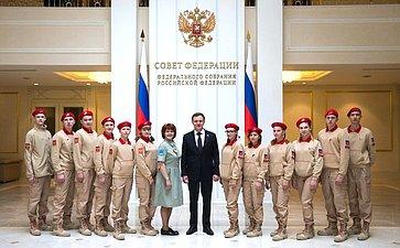 Встреча В.Новожилова сюнармейцами Архангельской области