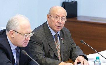 А. Чекалин Расширенное заседание Комитета СФ по науке, образованию и культуре