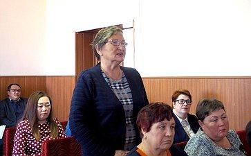 Вячеслав Наговицын встретился сглавами поселений, депутатами ижителями Джидинского района