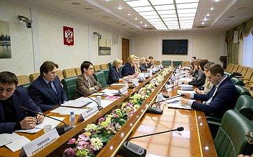Заседание рабочей группы Комитета СФ понауке, образованию икультуре
