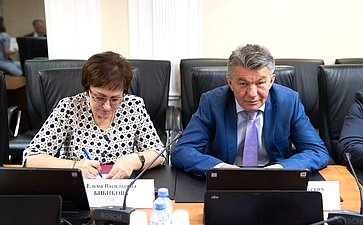 Елена Бибикова иВиктор Озеров