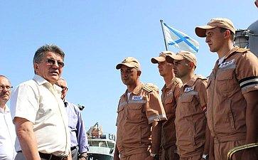 Члены Комитета СФ пообороне ибезопасности набазе Хмеймим вСирии