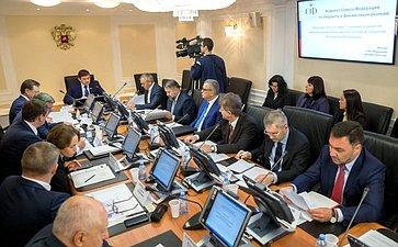 «Круглый стол» Комитета СФ побюджету ифинансовым рынкам, посвященный созданию иразвитию многоуровневой банковской системы всубъектах РФ