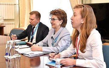 Г. Карелова отметила вклад ЮНИДО вреализацию проектов женского лидерства иразвитие предпринимательства