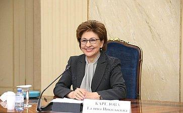 Г. Карелова: НКО— надежный партнер государства врешении широкого круга вопросов социальной сферы