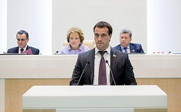 Исаков 380-е заседание Совета Федерации