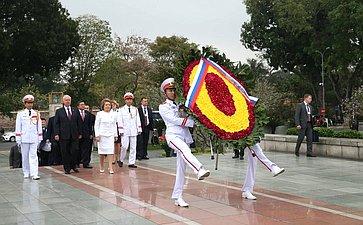 Визит делегации Совета Федерации воВьетнам